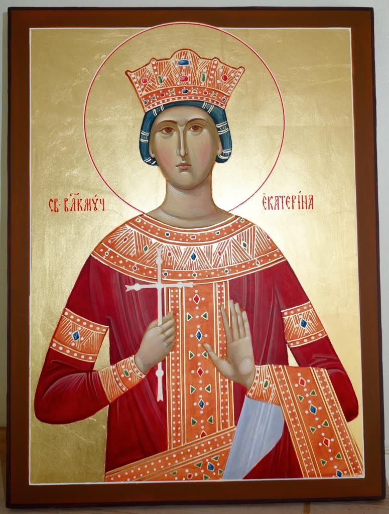 Icon of Catherine the Great Martyr: photo, what helps 86