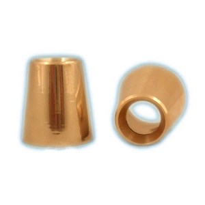 7752-02 candle cover brass