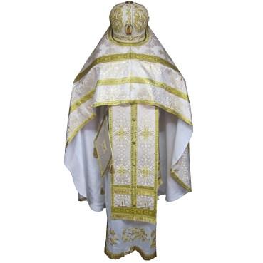Brocade vestments