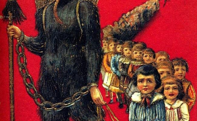 Santa Satan St Nick And Krampus The Moral Fluctuation