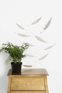 Mirrored Quill Wall Decal | HolyCool.net