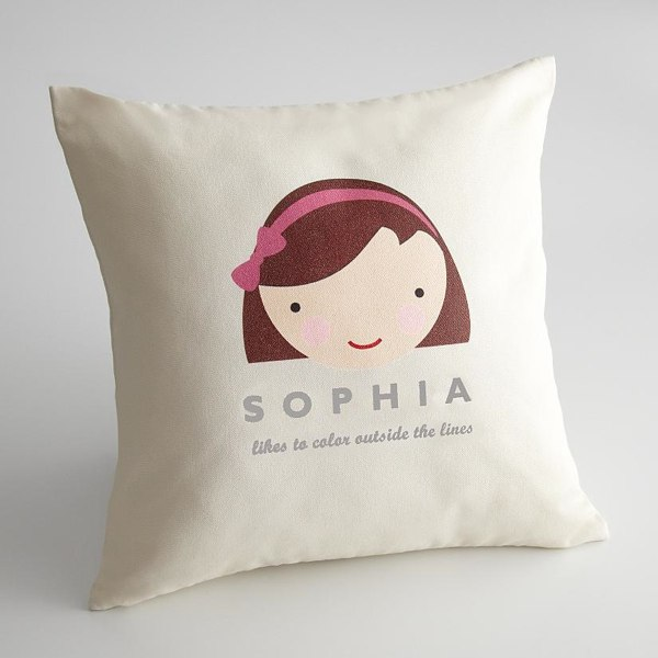 Personalized Kids Faces Pillow Covers  HolyCoolnet
