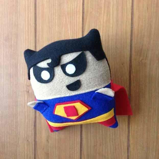 Mini Superhero Plush Pillows  HolyCoolnet