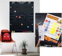 Pac-Man Arcade Screen Wall Decal  HolyCool.net