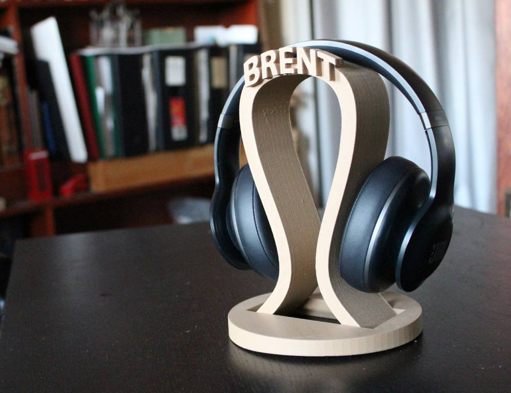 Name Personalized Headphone Stand  HolyCoolnet