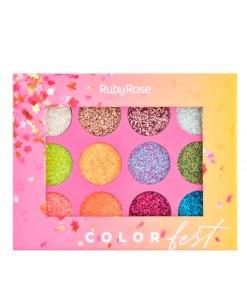 Paleta-de-glitters-color-fest-ruby-face--Holy-cosmetics