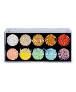 Paleta de glitter let`s go party web Holy cosmetics