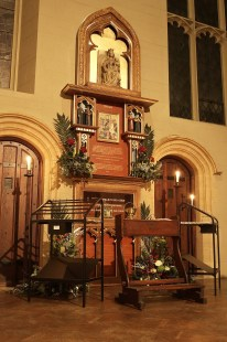 A final view of the shrine for the evening - Copy