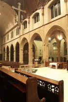 Looking out from the Sacristy 1