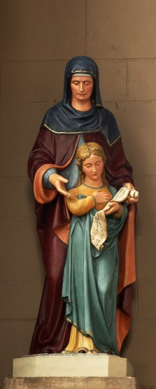 St. Anne and her daughter