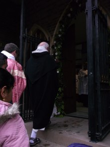 entering the Holy Door