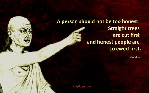 Chanakya Quotes Wallpaper Quotes Wallpapers Chanakya Quote On Honesty