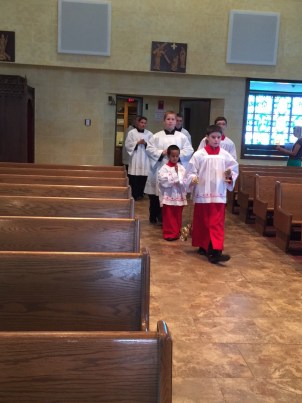 Procession for our Holy Hour