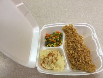 Baked Fish to go