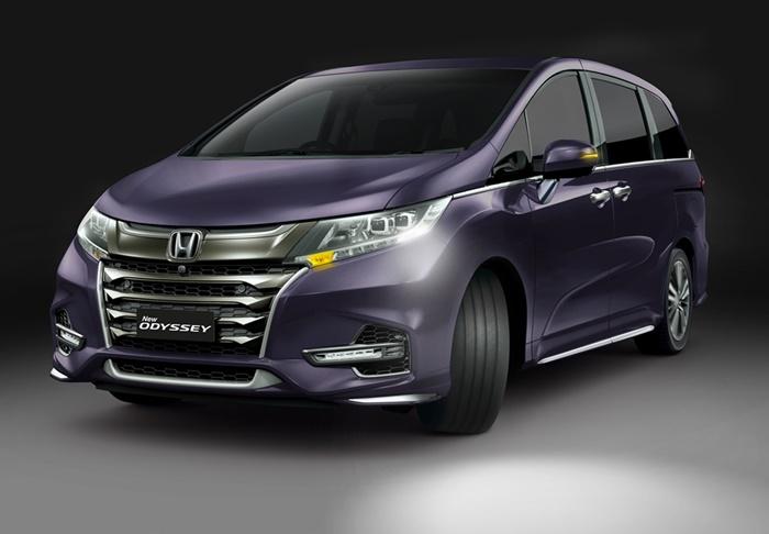 Spesifikasi Honda Odyssey