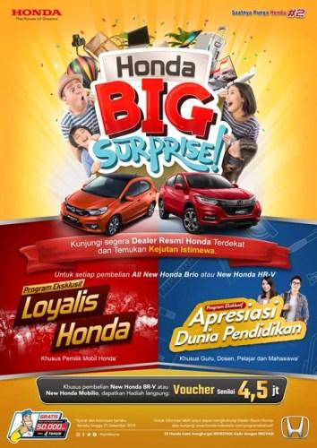 Promo Eksklusif Honda Loyalis
