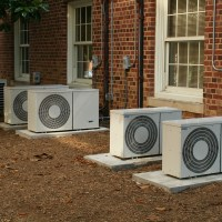 Four airconditioners