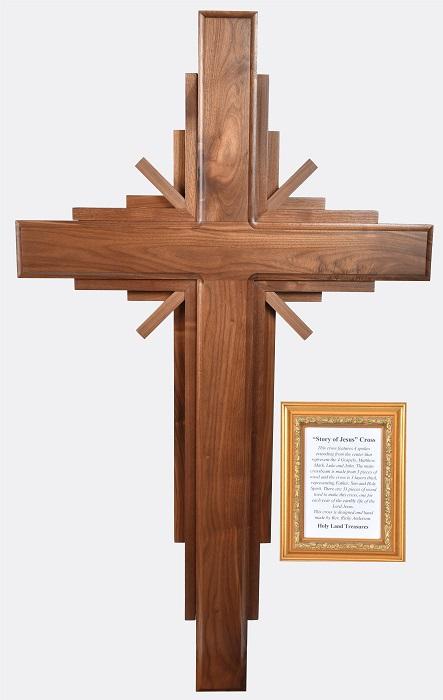 story of jesus crosses