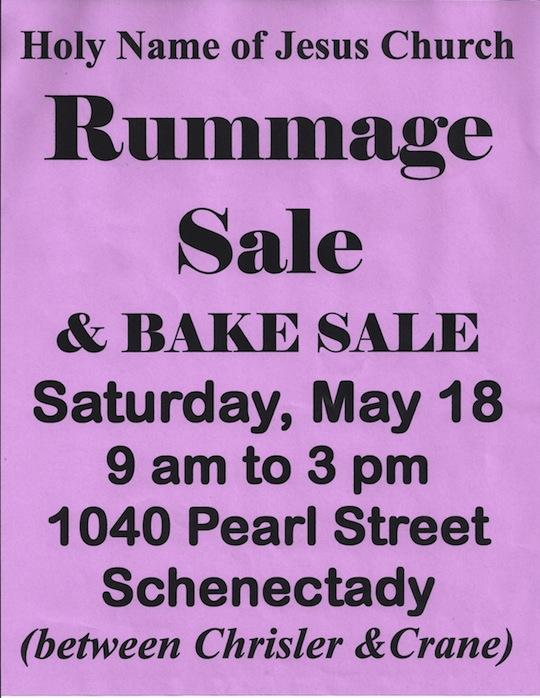 2013 Rummaage Sale