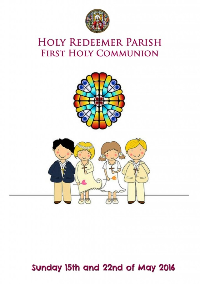 First Communion Front