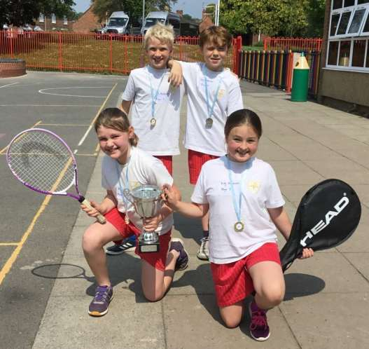 Yr 4 Tennis