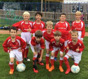 Under 9s Cherry Orchard Match