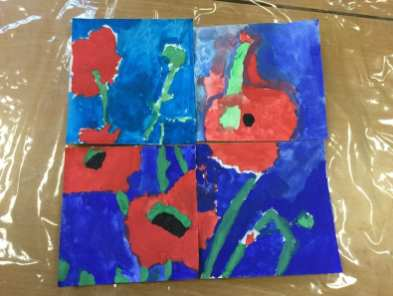Water Colour Poppies (2)