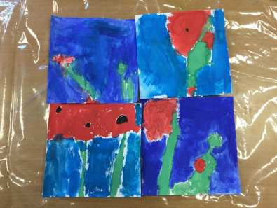 Water Colour Poppies (3)