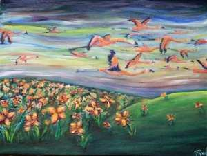 Birds of the Air and Lilies of the Field