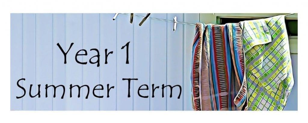 Year 1 Summer banner