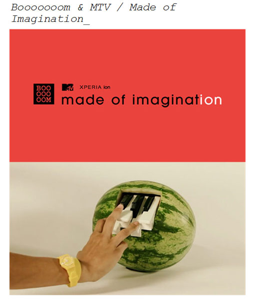 MTV Made of imagination