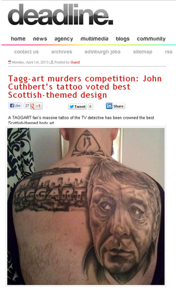 Deadline News Tagg-art tattoo convention