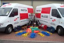 Panton Mcleod Scottish PR photography of van by award winning PR agency Holyrood PR Edinburgh