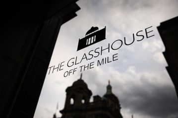 The Glasshouse off the mile food and drink PR photography exterior shot