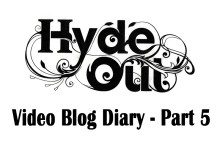 Hyde Out PR video blog part 5 in pub PR campaign