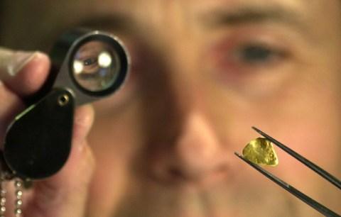 PR photography for Edinburgh jeweller and his rare Scottish gold