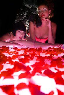 Hotel PR photograph of Lulu's glamour launch located underneath Tigerlily, Edinburgh