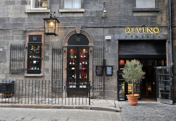 The entrance of Divino Enoteca is shown in a Food and drink PR image