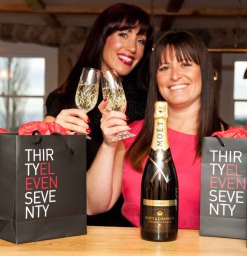 Aimée Johnstone (left) and Joanna Daley celebrate the launch of new party planning service, Thirty Eleven Seventy. The company creates luxury events which help turn any special occasion into the ultimate celebration. Joanna Daley, set up the company after a decade of success with her business Roselle, which specialises in corporate events.