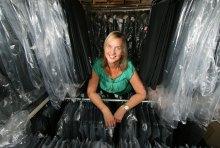 Hotel PR photography NKD clothing clothes rail shot by Holyrood PR Edinburgh