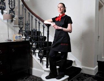 Edinburgh PR agency Holyrood PR arranged these PR photos for Michelin star restaurant staff