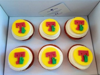 T in the Park Cupcakes