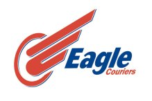 Eagle Couriers logo, as used by the firm's Scottish PR agency