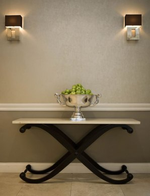 Hotel PR photography of the interiors at Fraser Suites in Edinburgh, Scotland