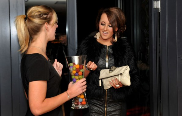 Pub and restaurant PR photos of VIP launch party at Hyde Out style bar