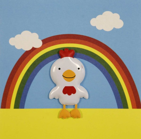 Kids will love this cute and colourful card available this Easter at Scribbler online and in store