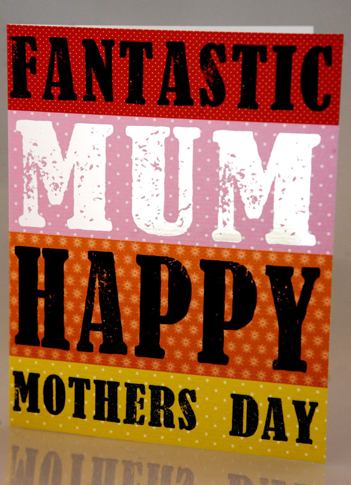 "Luscious cards from the Soul card company's Juice range offer modern sentiment for a colourful world, with cards bearing mottos like ""Fantastic Mum"" in bold, bright lettering. The cards retail at £2.50 at Scribbler stores across Scotland and England"