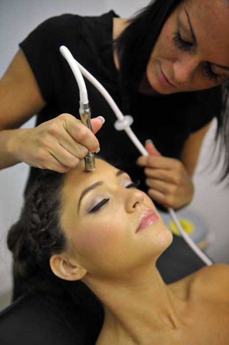 Hair and Beauty PR photography sculpta cosmetic clinic model