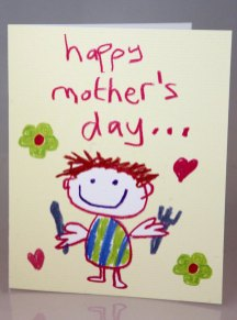 "This image has been viewed 405 times Love & Tickles cards can add a childlike joy to Mothering Sunday – the cards have crayon style line drawings guaranteed to make mum beam. One popular design reads: ""To the queen of the house … Happy Mother's Day from your loyal subject"" and shows a happy mum with a crown on her head. Another favourite sports a picture of a hungry son with the message ""Happy Mother's Day … please take it easy until my dinner time."" The cards retail at £2.50 at Scribbler stores across Scotland and England"