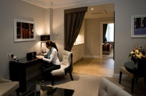 Hotel PR photography for Fraser Suites in Edinburgh, Scotland